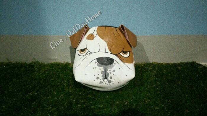 ขายกระเป๋าลายสุนัข กระเป๋าหนังรูปหน้าสุนัขพันธุ์ต่างๆ หมอนรูปหน้าสุนัข พวงกุญแจหนัง สินค้าแฮนด์เมดขา